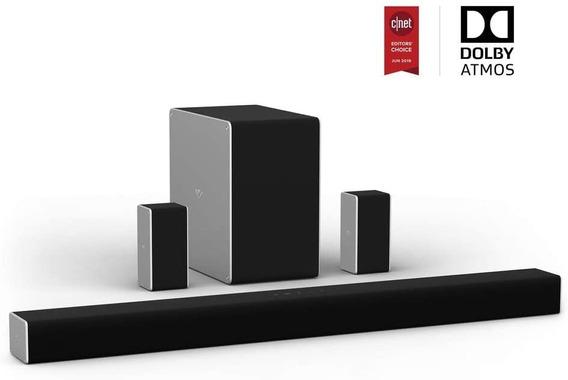 Premium Soundbar Vizio Sb36514-g6 5.1.4 - Nova E Lacrada