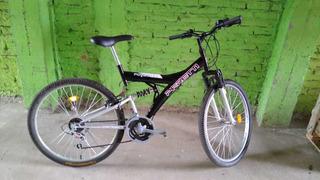 Bicicleta Mtb Doble Suspencion Peretti R26 21v