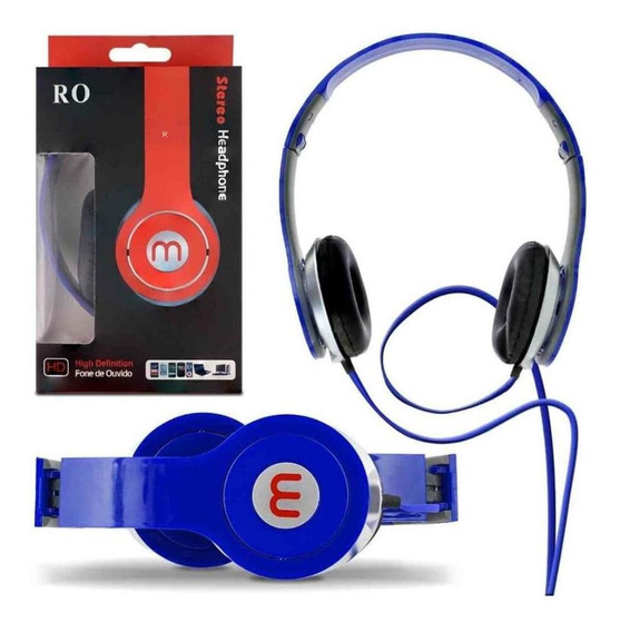 Headset Ro Stereo High Definition Android Ios Varias Cores
