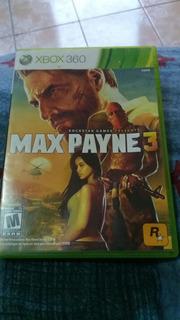 Juego De Xbox 360 Original Max Payne 3 .