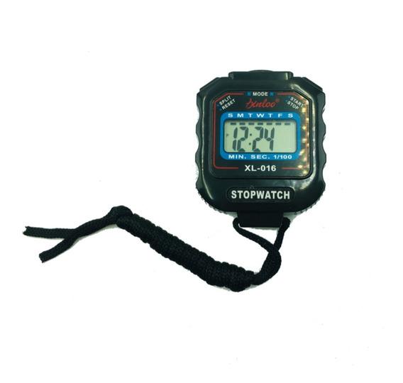 Cronometro Deportivo Digital Negro /azul