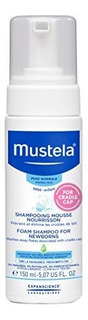 Mustela Foam Shampoo Para Recien Nacidos, Baby Shampoo, Crad