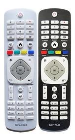Controle Remoto Smart Tv Philips 7048 / Sky-7048