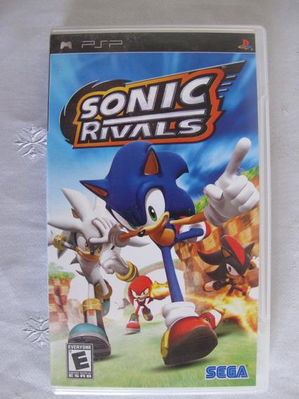 Jogo - Sonic Rivals - Psp Mídia Física