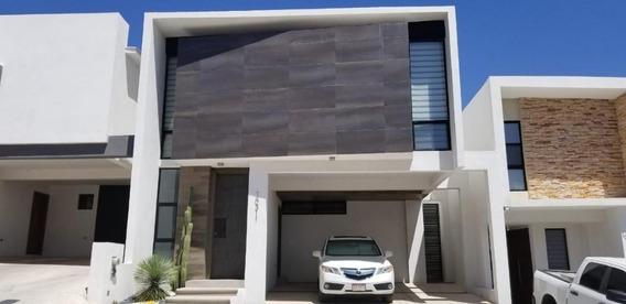 Casa Super Moderna, Totalmente Equipada, Lista Para Habilitar Fraccionamiento Privado Semi Nueva.