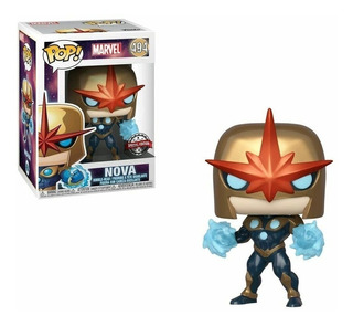 Funko Pop Marvel Nova Prime Exclusive