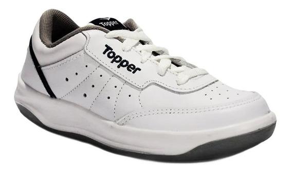Zapatilla Topper X Forcer Kids Escolar Tenis