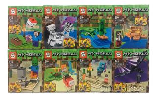 Lego Minecraft My World Simil 8 En 1 - Lulú Juguetes