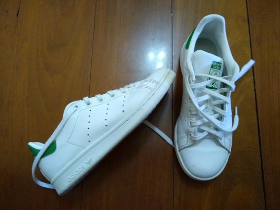 Tênis adidas Stan Smith Original/34 Mas Calça 35
