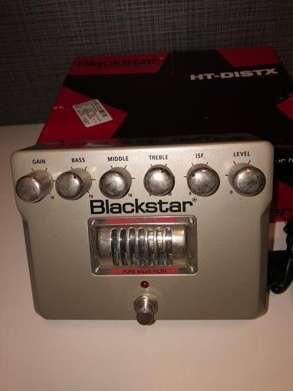 Pedal Blackstar Ht-distx + Fonte De Alimentação