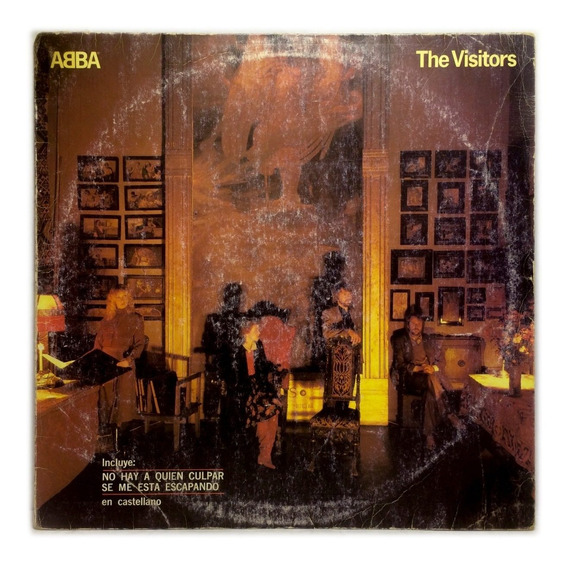 Vinilo Abba The Visitors Lp 1981 Argentina