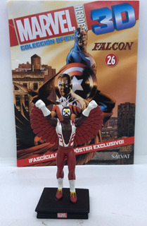 Figuras Marvel 3d Nº 26 Falcon