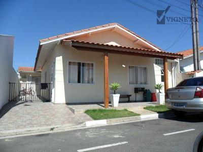 Casa Residencial À Venda, Condomínio Porto Do Sol, Louveira. - Ca2548