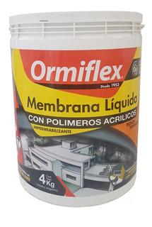 Membrana Líquida Acrílica Verde Ormiflex 4 Kg Sibaco