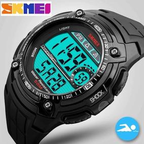 Relógio Skmei 1203 Esportivo Original Led Promoção C/caixa