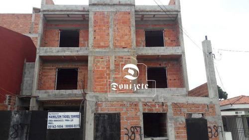 Cobertura À Venda, 130 M² Por R$ 526.000,00 - Vila Assunção - Santo André/sp - Co11124
