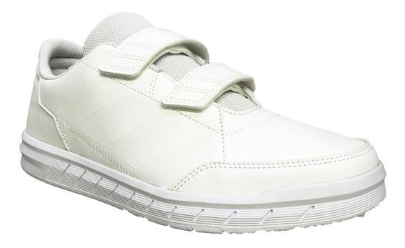 Tenis adidas Escolar Blanco Alta Sport Niño D96832