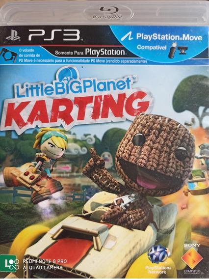 Little Big Planet Karting Ps3 Original , A Pronta Entrega