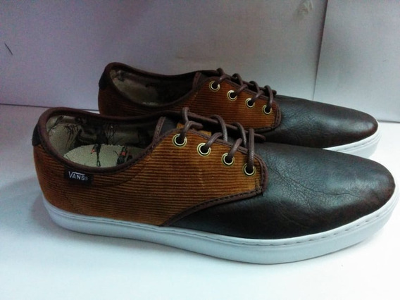 Tenis Vans Ludlow Duck Hunt Para Hombre Color Cafe