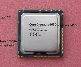 Processador Intel Core 2 Quad Q9650=x5450 3.0ghz/12m+brinde