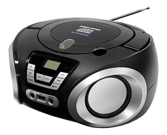 Toca Cd Player Radio Bluetooth/usb/cd/fm Bivolt +fone Blutue