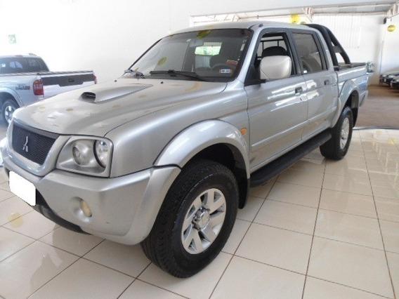 Mitsubishi L200 2.5 Hpe Sport Prata 4x4 Cd Diesel 4p 2004