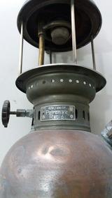 Lampião Latão Bronze Antigo