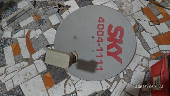 Antena Parabólica De Parede