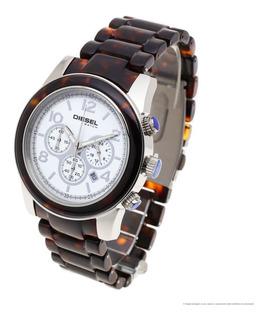 Reloj Diesel Mujer 6250 - Acero Acetato Wr50 Crono Fecha