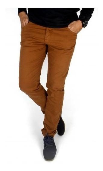 Calça Masculina Jeans Sarja Colorida Slin 36 Ao 64 Plus Size