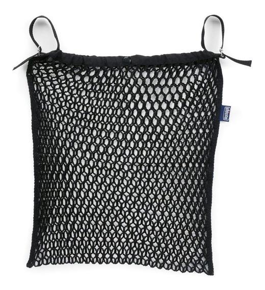 Rede Porta Objetos Para Carrinho Chicco Nylon Black
