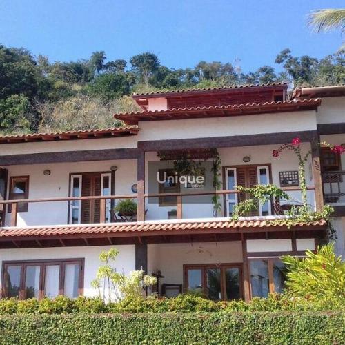 Casa À Venda, 300 M² Por R$ 3.500.000,00 - Centro - Paraty/rj - Ca0548