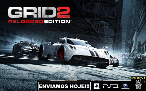 Grid 2 Reloaded Edition Ps3 Psn Jogos