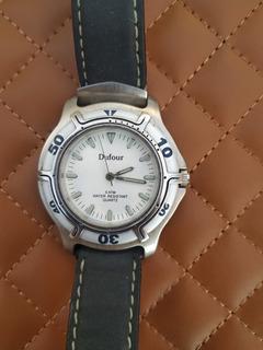 Reloj Dufour Water Resistan 50m Original Dufour Men 5atm