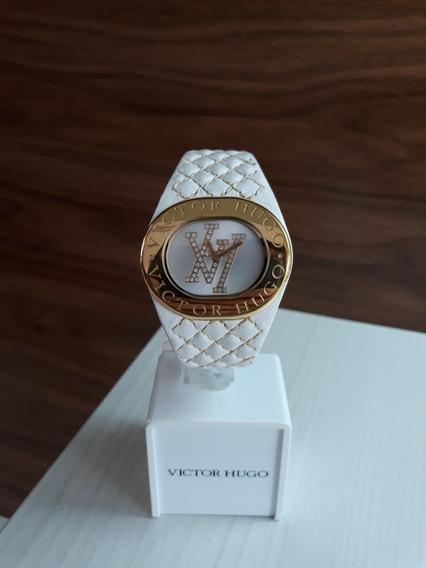 Relógio Victor Hugo Vh10053 + Garantia De 1 Ano + Nf