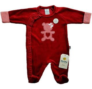 Macacão Plush Para Bebês Ursinha