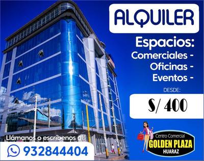 Alquiler De Locales Comerciales Huaraz Independencia