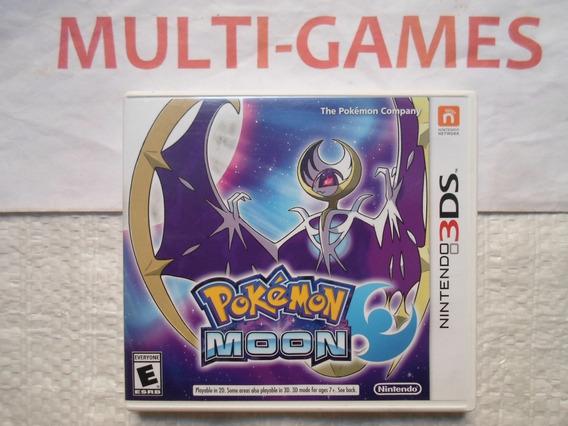 Pokémon Moon Para Nintendo 3ds.
