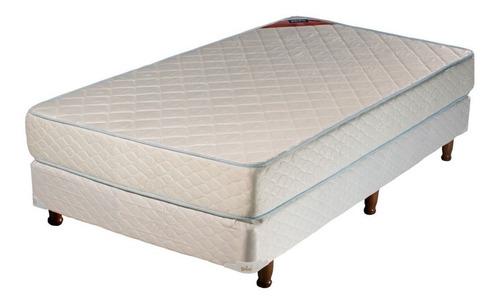 Sommier Piero Foam 1 plaza 190x80cm blanco