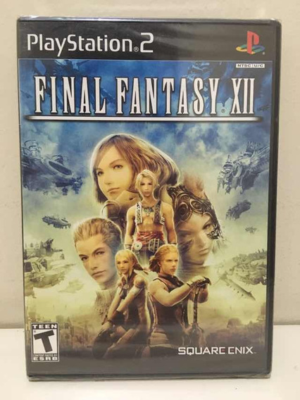 Final Fantasy Xii 12 Sony Playstation 2 Ps2 Novo Lacrado