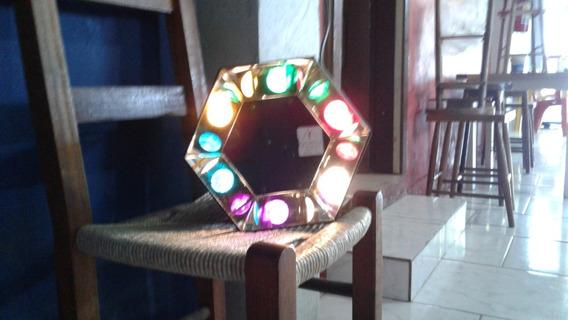Mushroom (cogumelo), Iluminação Vintage, Lampada Comum Usada