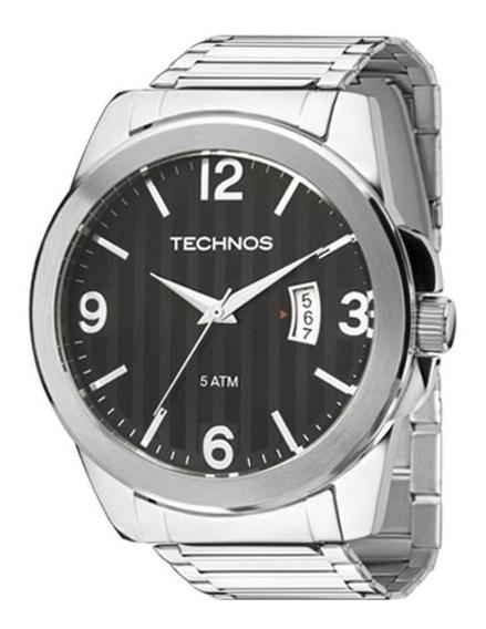 Relógio Technos Masculino Performer Prata Grande