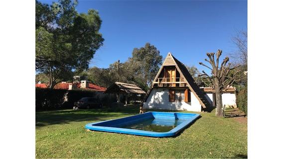 Casa Alpina Terreno 800m2 Árboles Venta En Manzanares Pilar