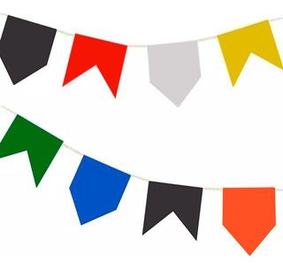 Bandeira Junina Plástica - 100 Metros