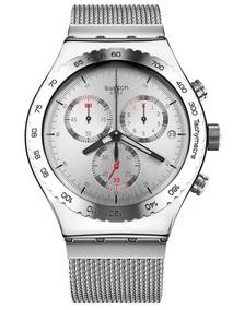 Relógio Swatch Silvery Yvs405g - Novo