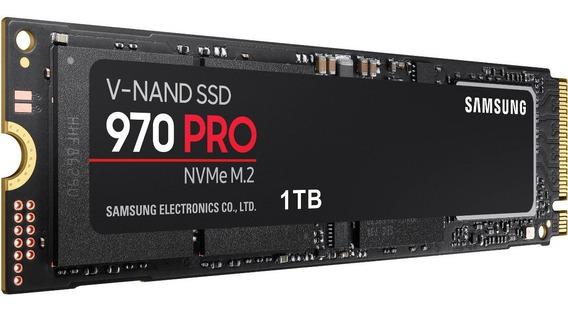 Ssd Samsung 970 Pro 1tb Nvme M.2 Pcie 2280 Lacrado 12 X Sju