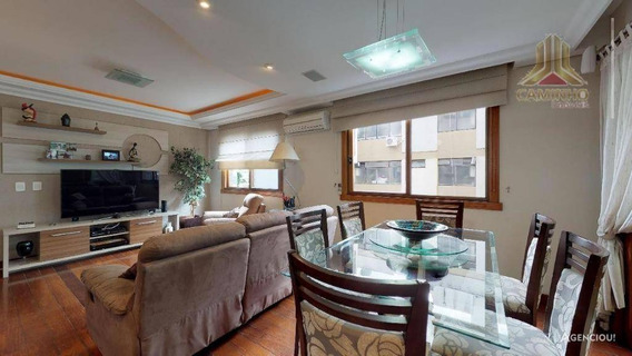 Apartamento Amplo De Três Dormitórios Na Rua São Manoel - Ap3844