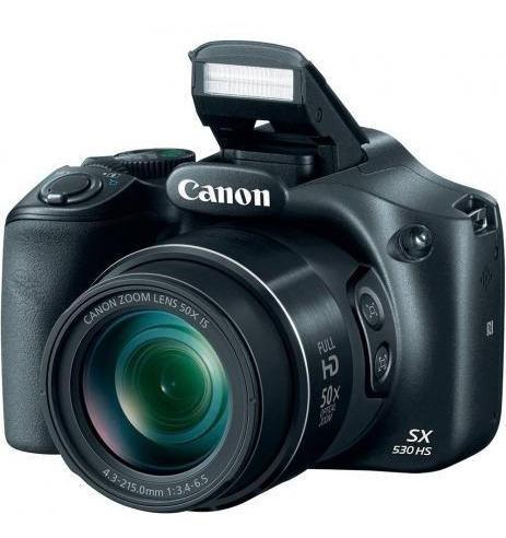 Câmera Digital Semiprofissional Canon Powershot Sx530hs