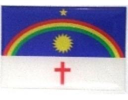 Adesivo Bandeira Pernambuco Resinado Universal
