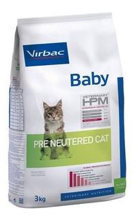 Alimento Virbac Hpm Baby Pre Neutered Cat 3 Kg